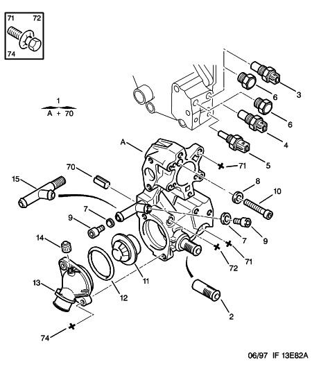 peugeot 106 thermostat