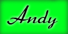 Andys Neongrüner Knopf