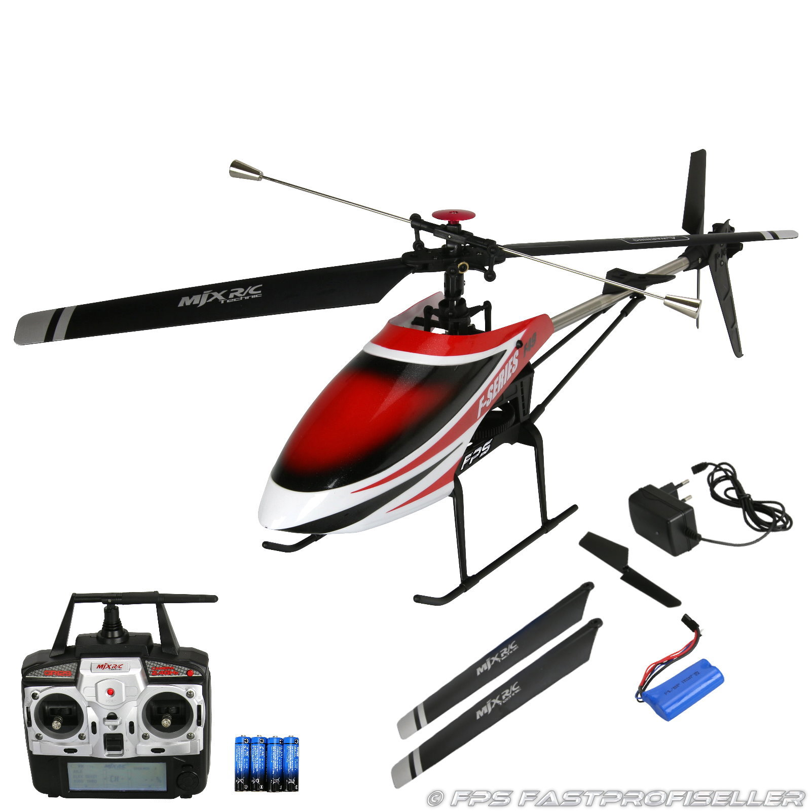 mjx f649 f49 rc helikopter 2 4 ghz xxl single rotor. Black Bedroom Furniture Sets. Home Design Ideas