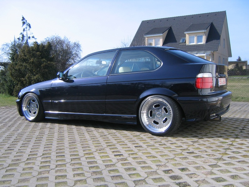 der e46 im e36 3er bmw e36 compact tuning. Black Bedroom Furniture Sets. Home Design Ideas
