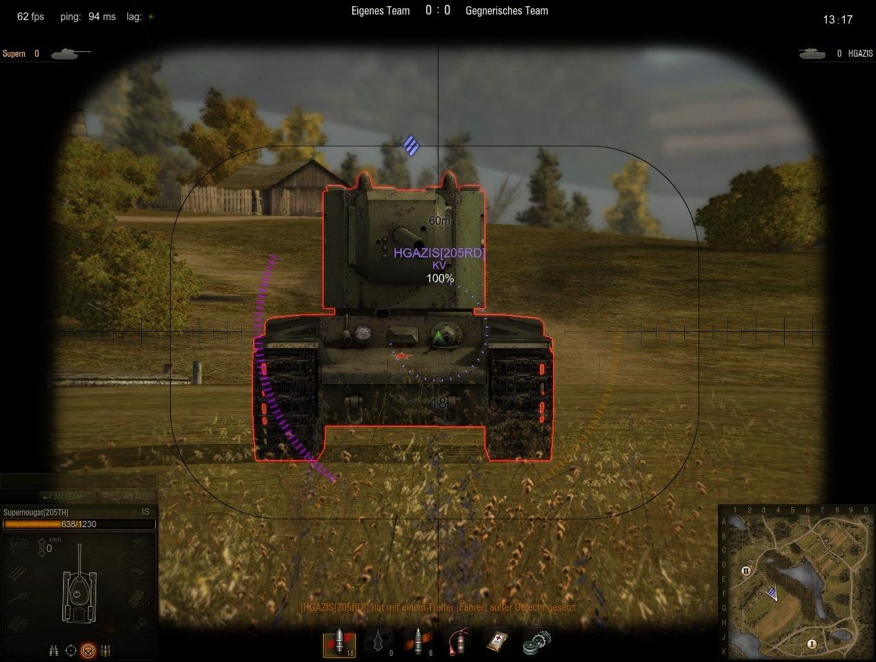 crosshair world of tanks mod