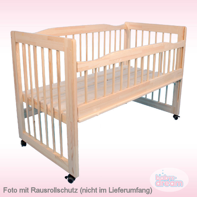 3in1 beistellbett babybett kinderbett moritz natur babys dream 120x60cm ebay. Black Bedroom Furniture Sets. Home Design Ideas
