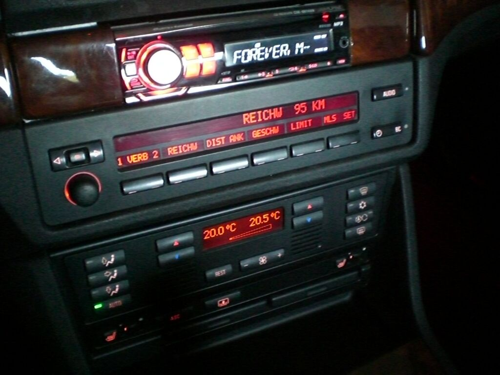 Radio 2 din do bmw e39