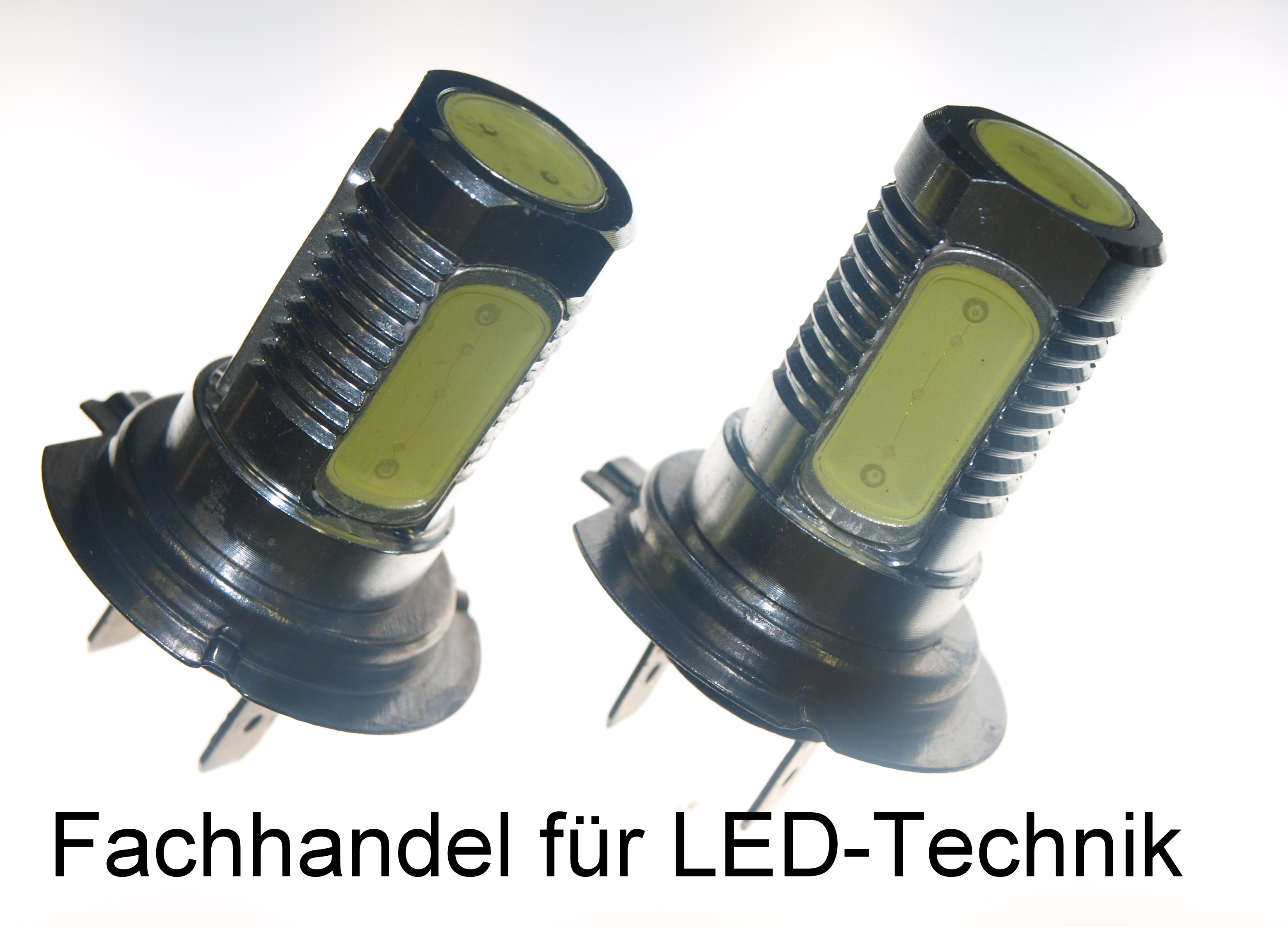 h7 high power 6w led leuchtmittel 12v pkw auto set