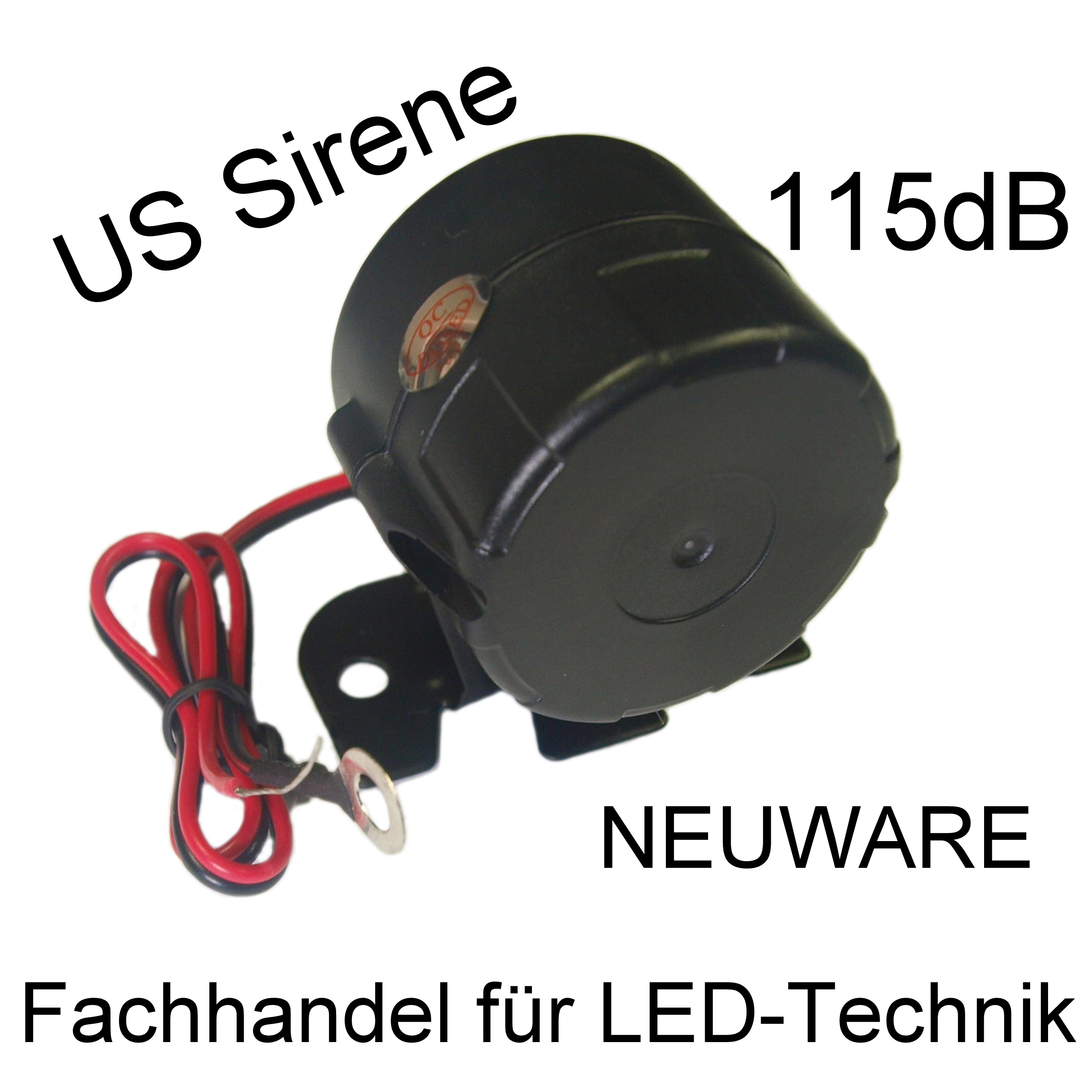 us police sirene 20 watt power 115 db neuware extrem ebay. Black Bedroom Furniture Sets. Home Design Ideas