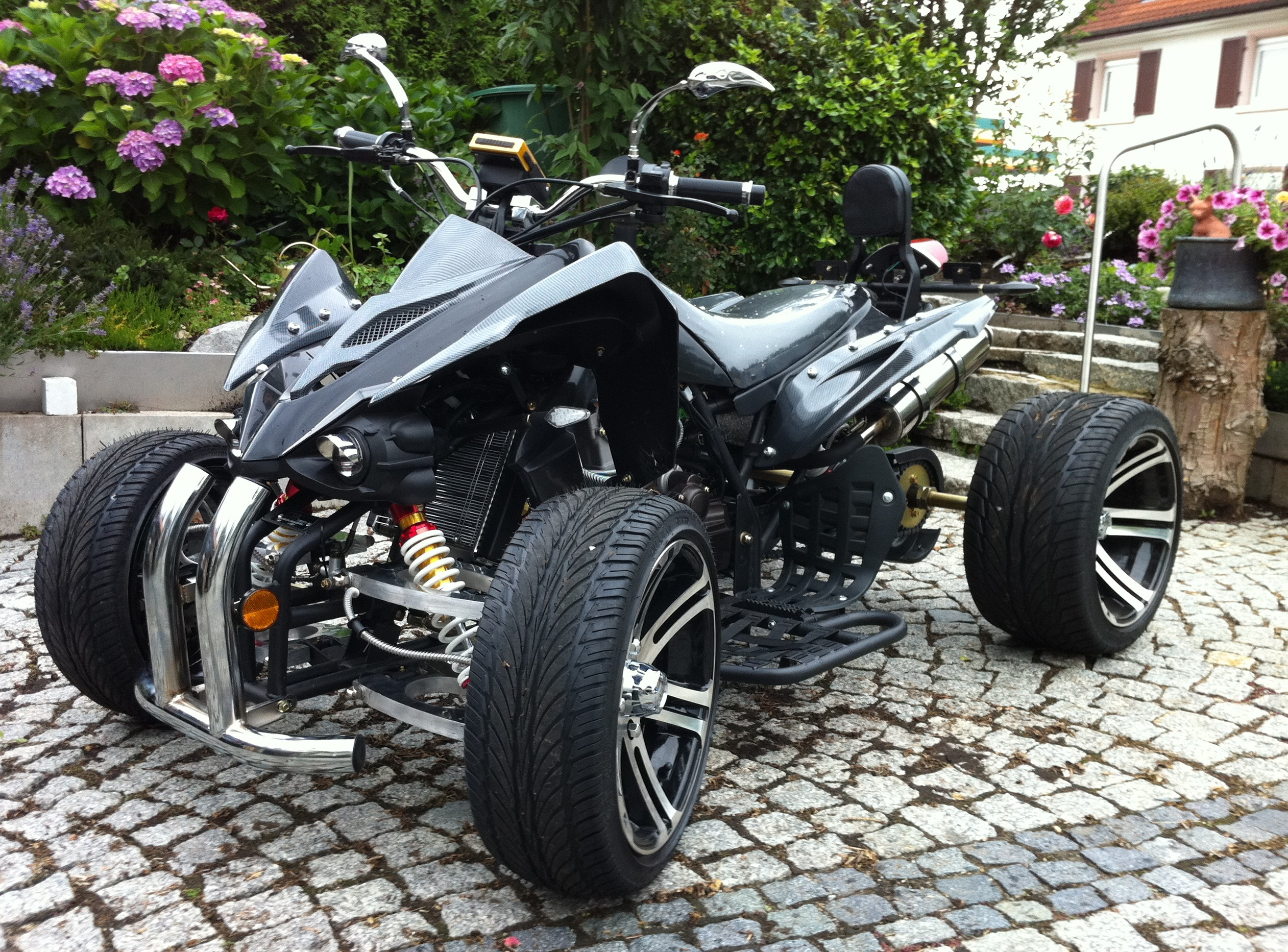ritzel kettenrad 27 z hne racing atv quad version 20 km. Black Bedroom Furniture Sets. Home Design Ideas