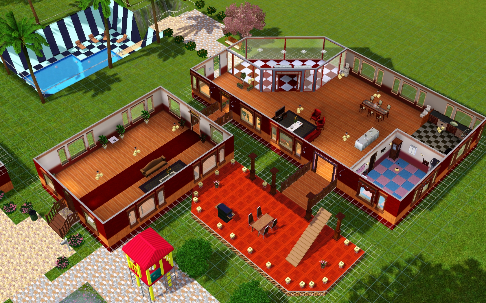 villa fantastico das gro e sims 3 forum von und f r fans. Black Bedroom Furniture Sets. Home Design Ideas