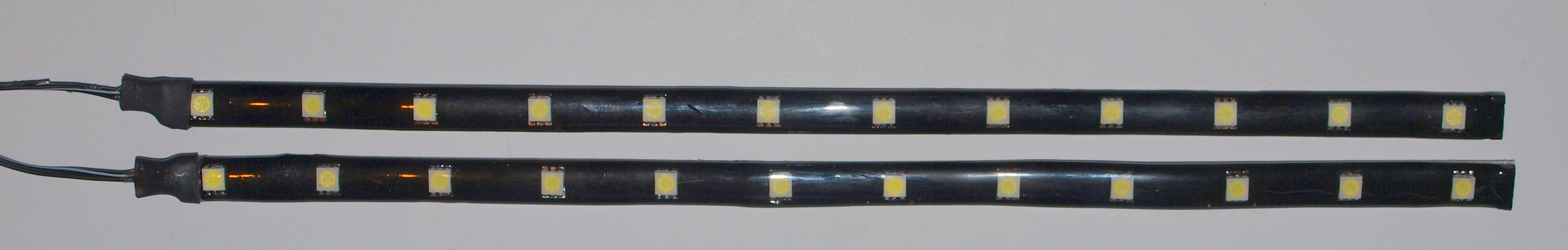 2 x wei er smd led strip 30cm 12 smd tagfahrlicht 5050 ebay. Black Bedroom Furniture Sets. Home Design Ideas