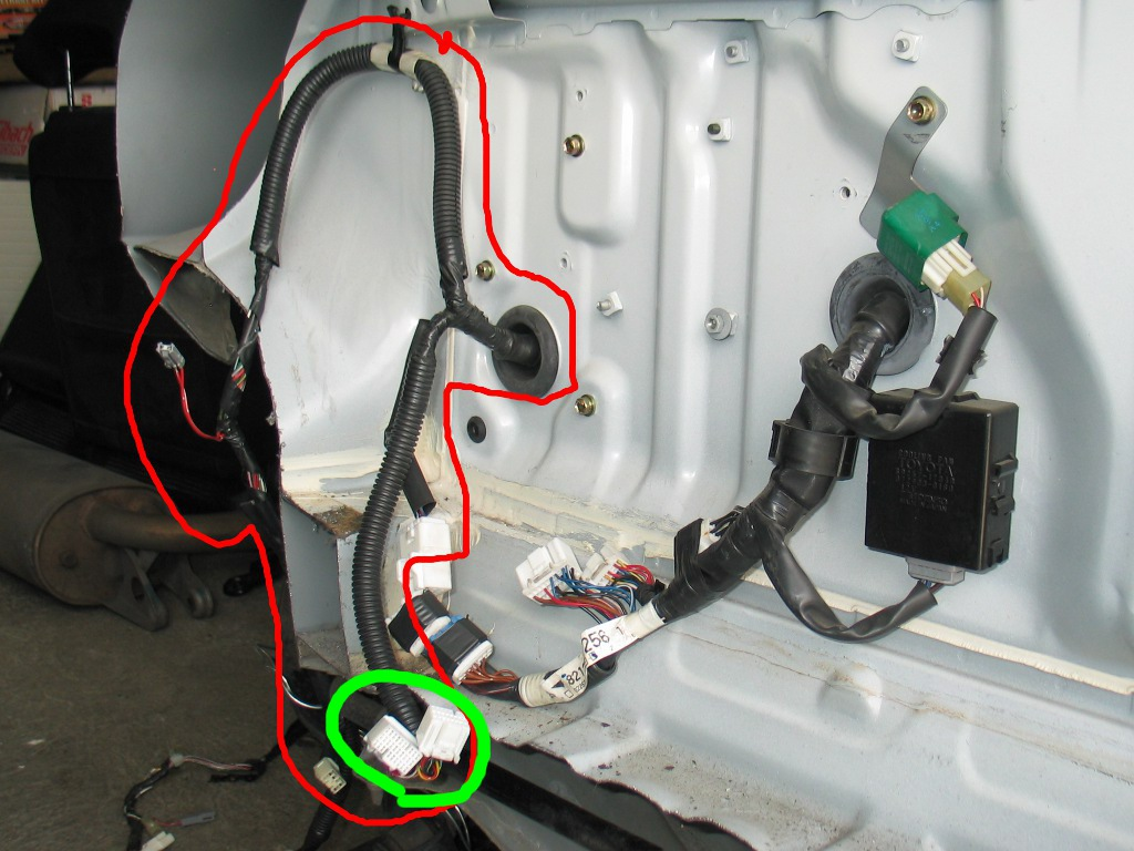 Redtop Swap Eu Spec Mr2  Need Help With Wiring Harness