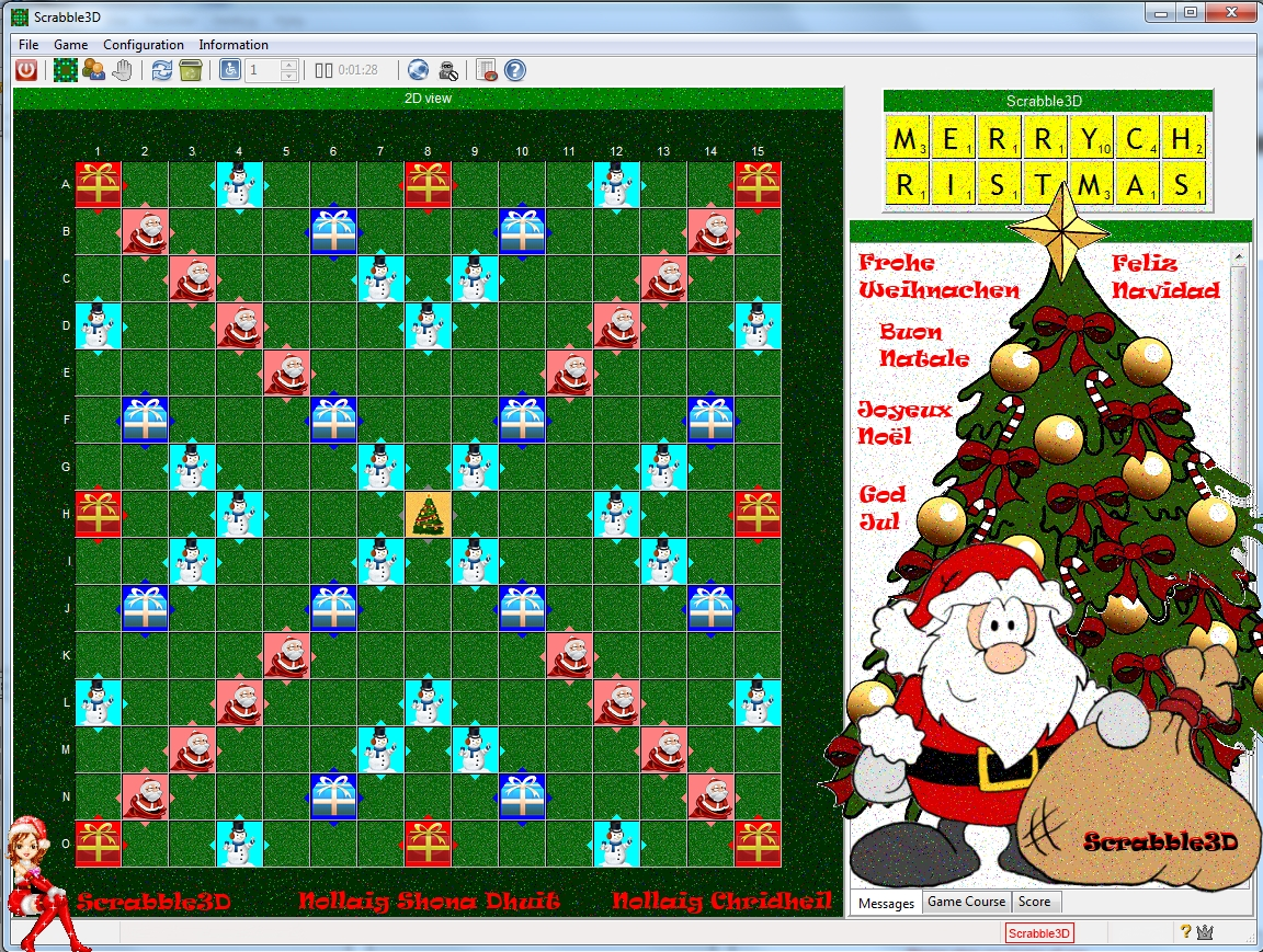 Scrabble3D Advent Calendar 2011