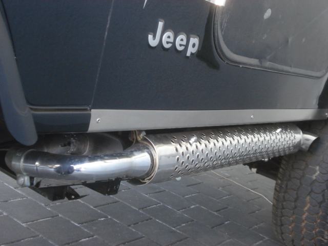 Sidepipes And Nerf Bars Or Steps Jeepforum Com