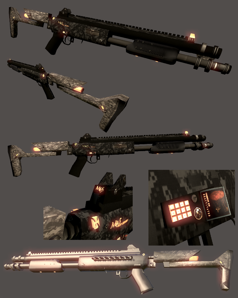 cyberpunk semifuturistic weapons for sale unity community