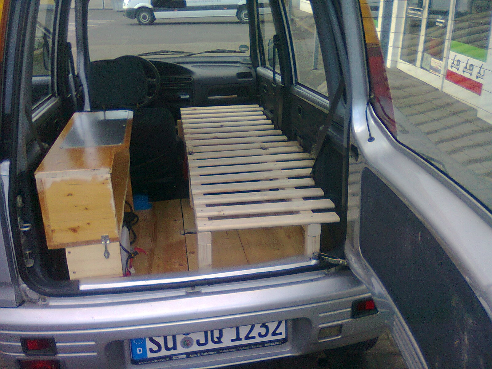 Microcamper auf daihatsu move basis