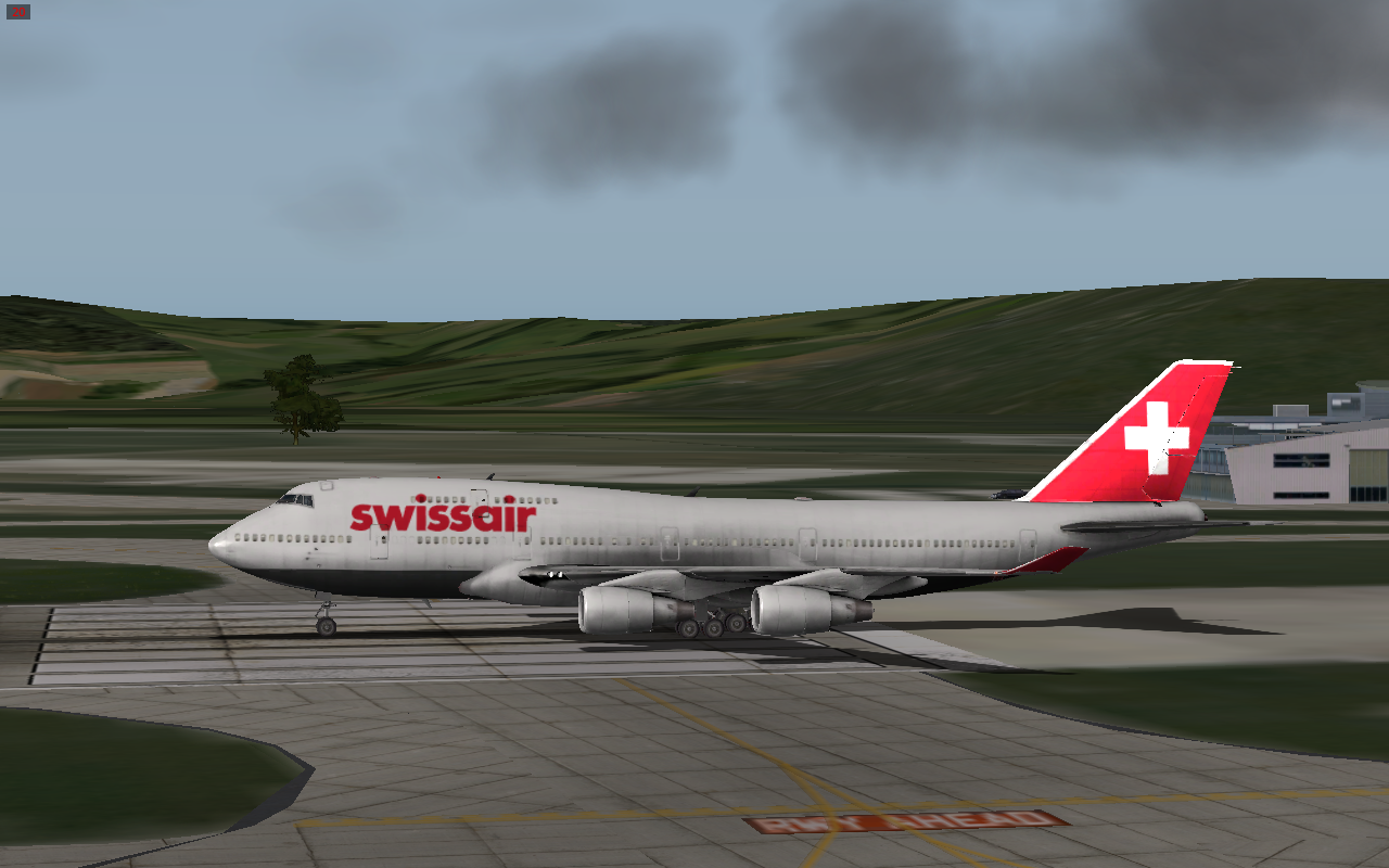 Swissair 747-400 XP 10 Livery - Aircraft Skins - Liveries - X-Plane
