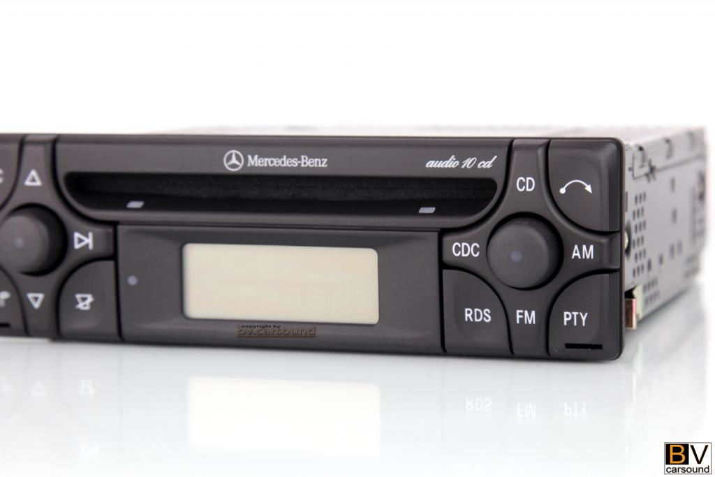 autoradio mercedes benz audio 10 cd aux in bluetooth slk. Black Bedroom Furniture Sets. Home Design Ideas