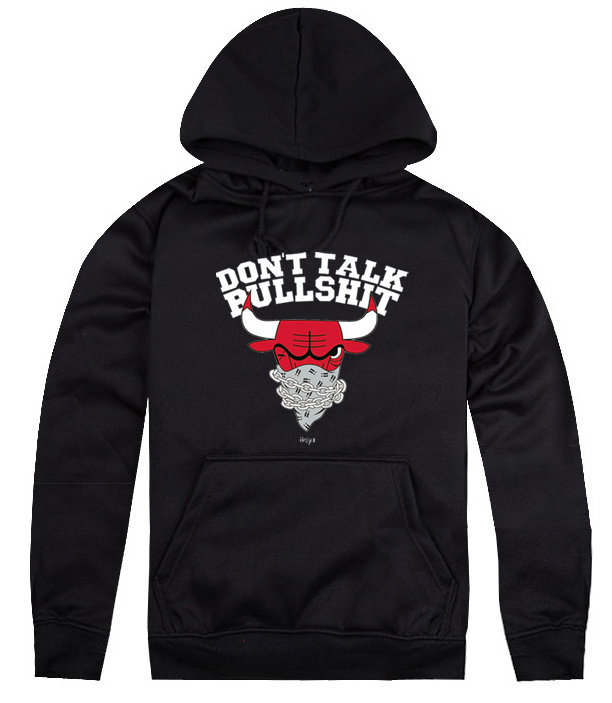 chicago bulls hoodie unkut dont talk bullshit by booba. Black Bedroom Furniture Sets. Home Design Ideas