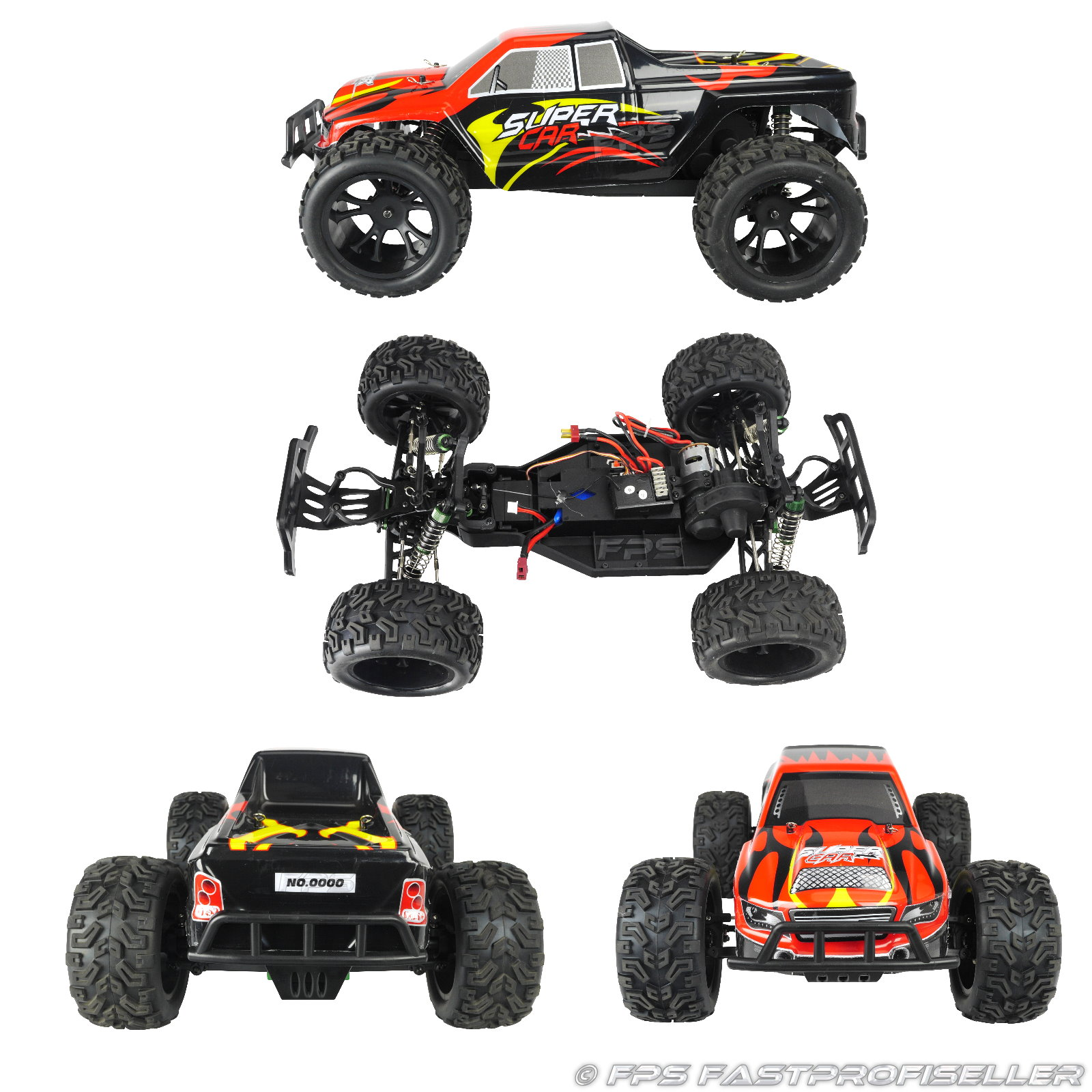 rc xxl monstertruck buggy offroad elektro auto l313 2 4. Black Bedroom Furniture Sets. Home Design Ideas