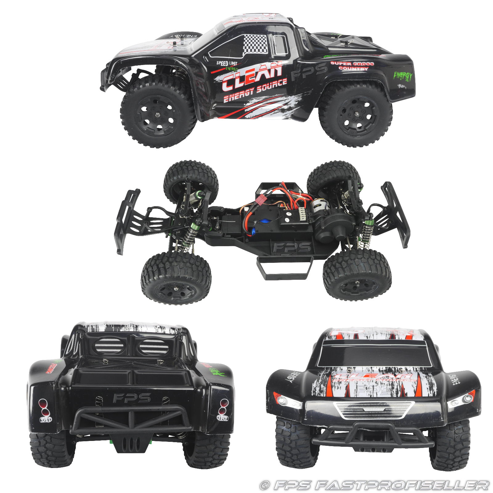 rc xxl truggy buggy offroad elektro auto l323 2 4 ghz 1 10. Black Bedroom Furniture Sets. Home Design Ideas
