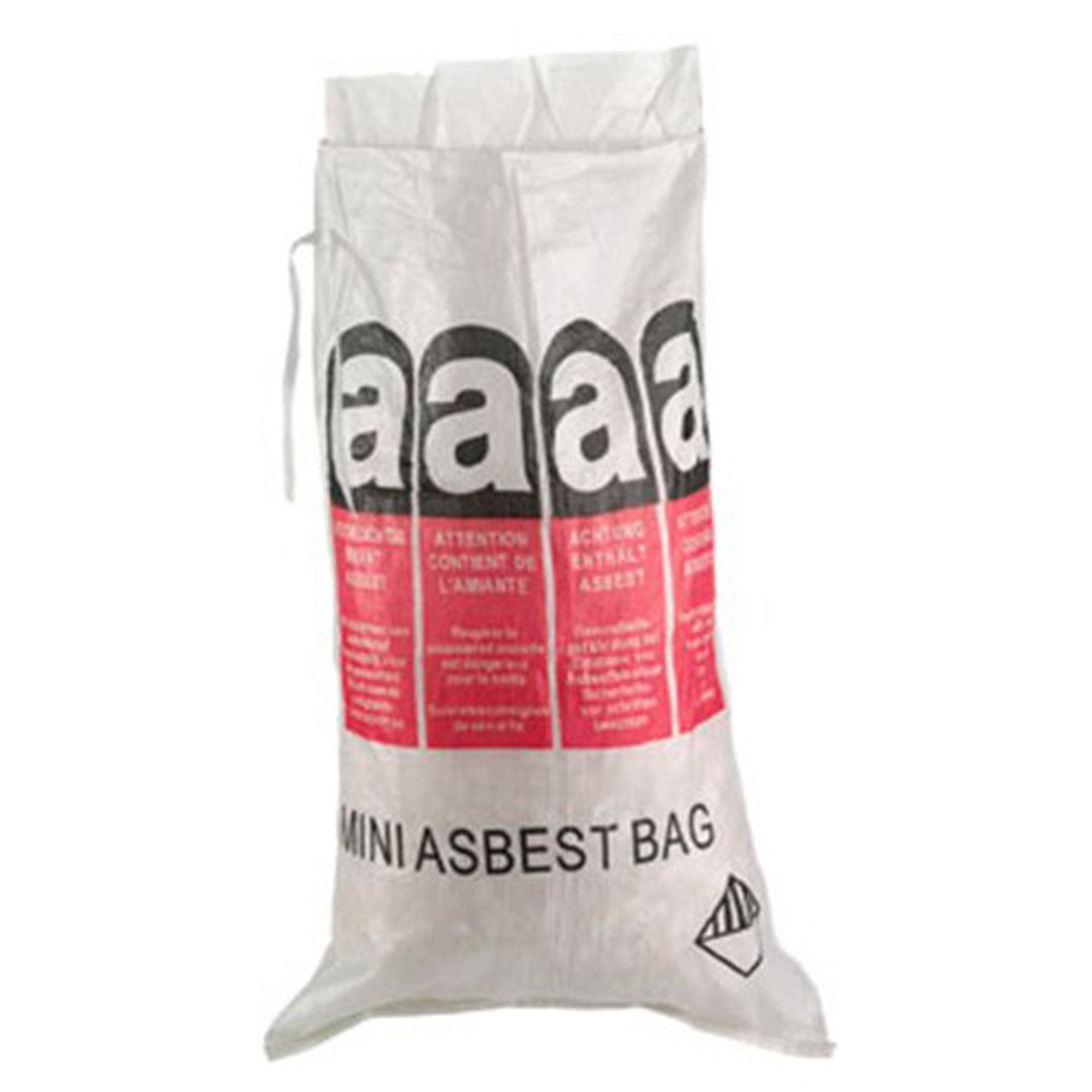 platten big bag asbest bag entsorgungs bag sack plattenbag mini asbestbag ebay. Black Bedroom Furniture Sets. Home Design Ideas