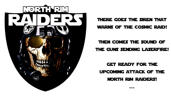 Die NORTH RIM RAIDERS Ew0j-3qq-14f2