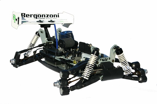 1 8 rc auto bergonzoni verbrenner nitro buggy r1 neu ebay. Black Bedroom Furniture Sets. Home Design Ideas