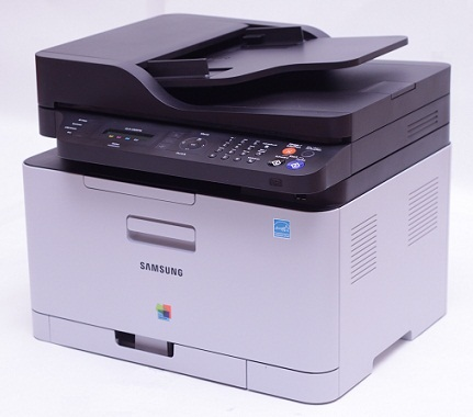 samsung clx 3305fw multifunktion farb laserdrucker scanner kopierer drucker fax ebay. Black Bedroom Furniture Sets. Home Design Ideas