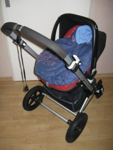 top bugaboo cameleon denim paul frank julius fu sack top ebay. Black Bedroom Furniture Sets. Home Design Ideas